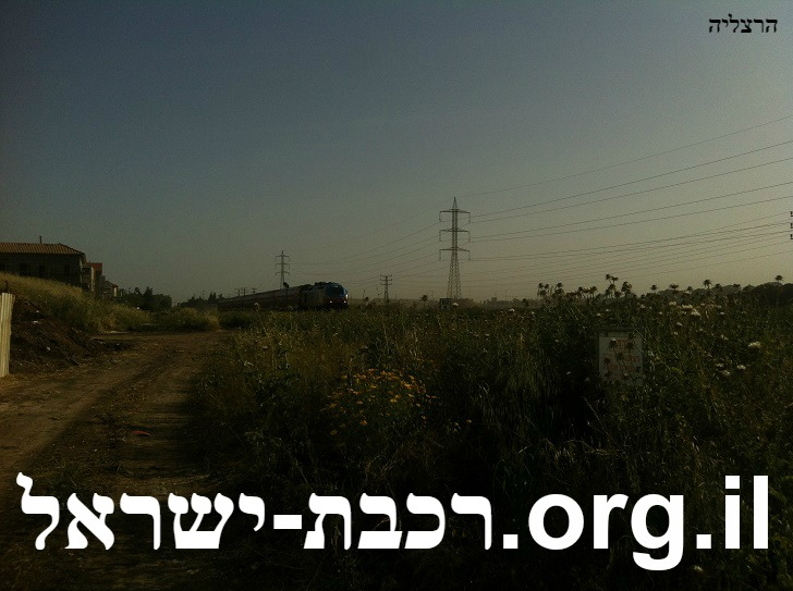 רכבת ישראל הרצליה לוח זמנים